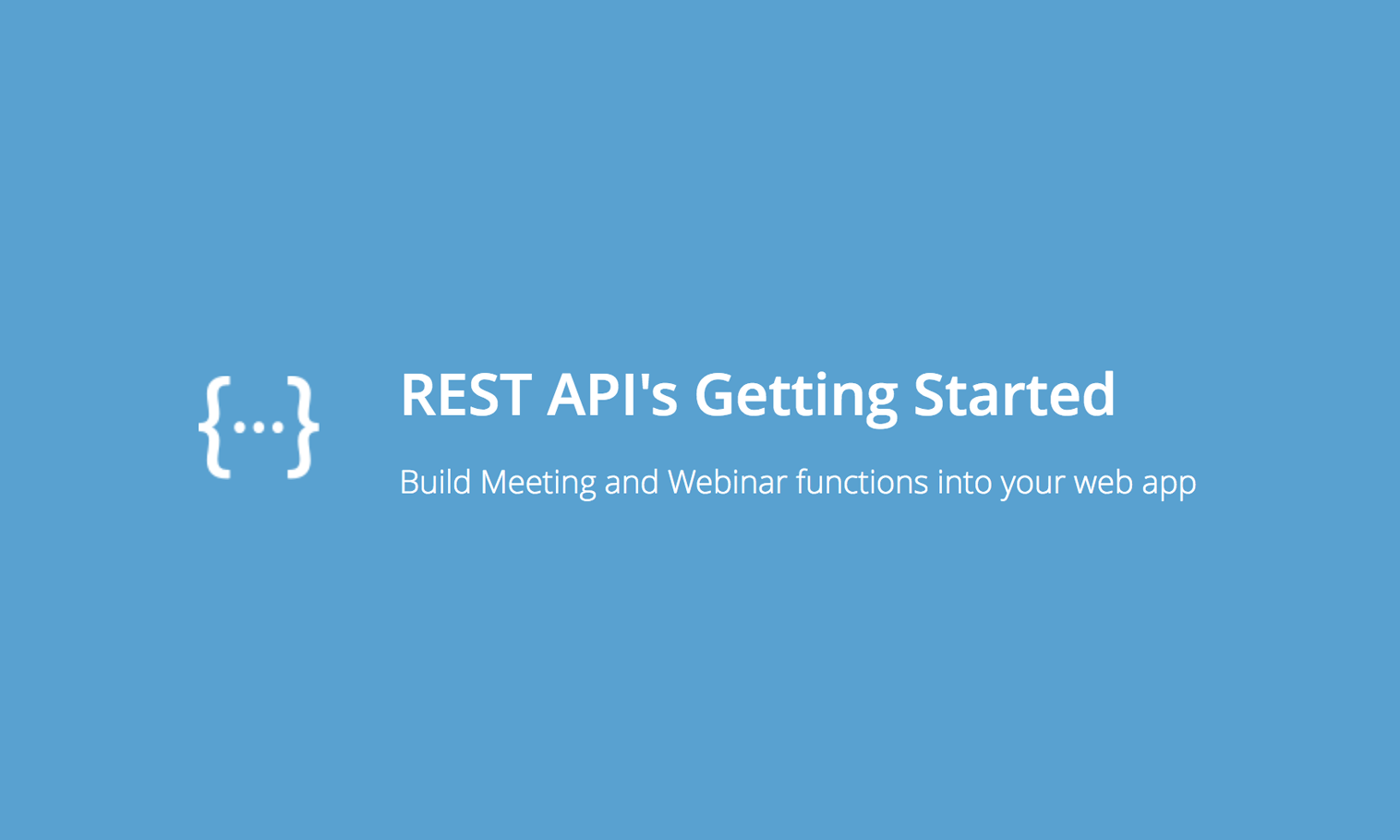 how to build a rest api node js