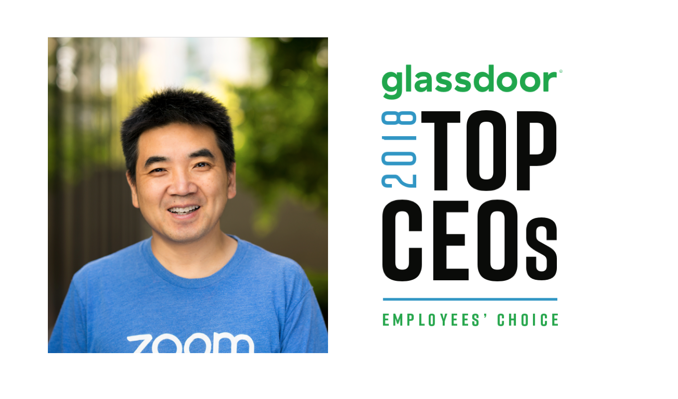 Zooms Founder Ceo Eric S Yuan Named 1 Ceo On Glassdoor