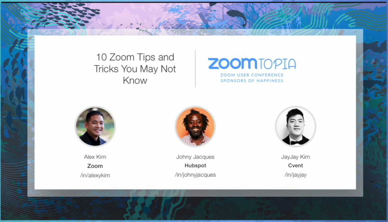 Zoomtopia 10 Zoom Tips And Tricks You May Not Know Zoom Blog