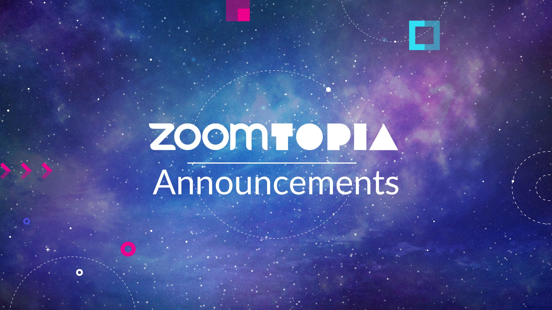 Zoomtopia 2019 Showcases Expanded Unified Communications Platform