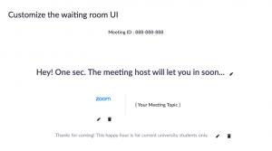 ホストには進行中の別のミーティングがあります 待機