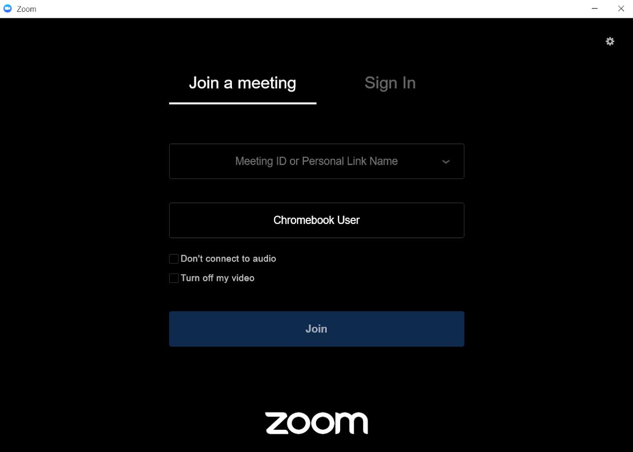 に 接続 は しない zoom オーディオ と