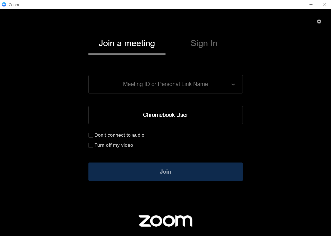 Sign in to Zoom on a chromebook - Zoom Blog