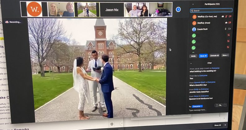 Q&A with Wedfuly: Zoom Weddings During COVID-19 & the Future of Virtual Ceremonies