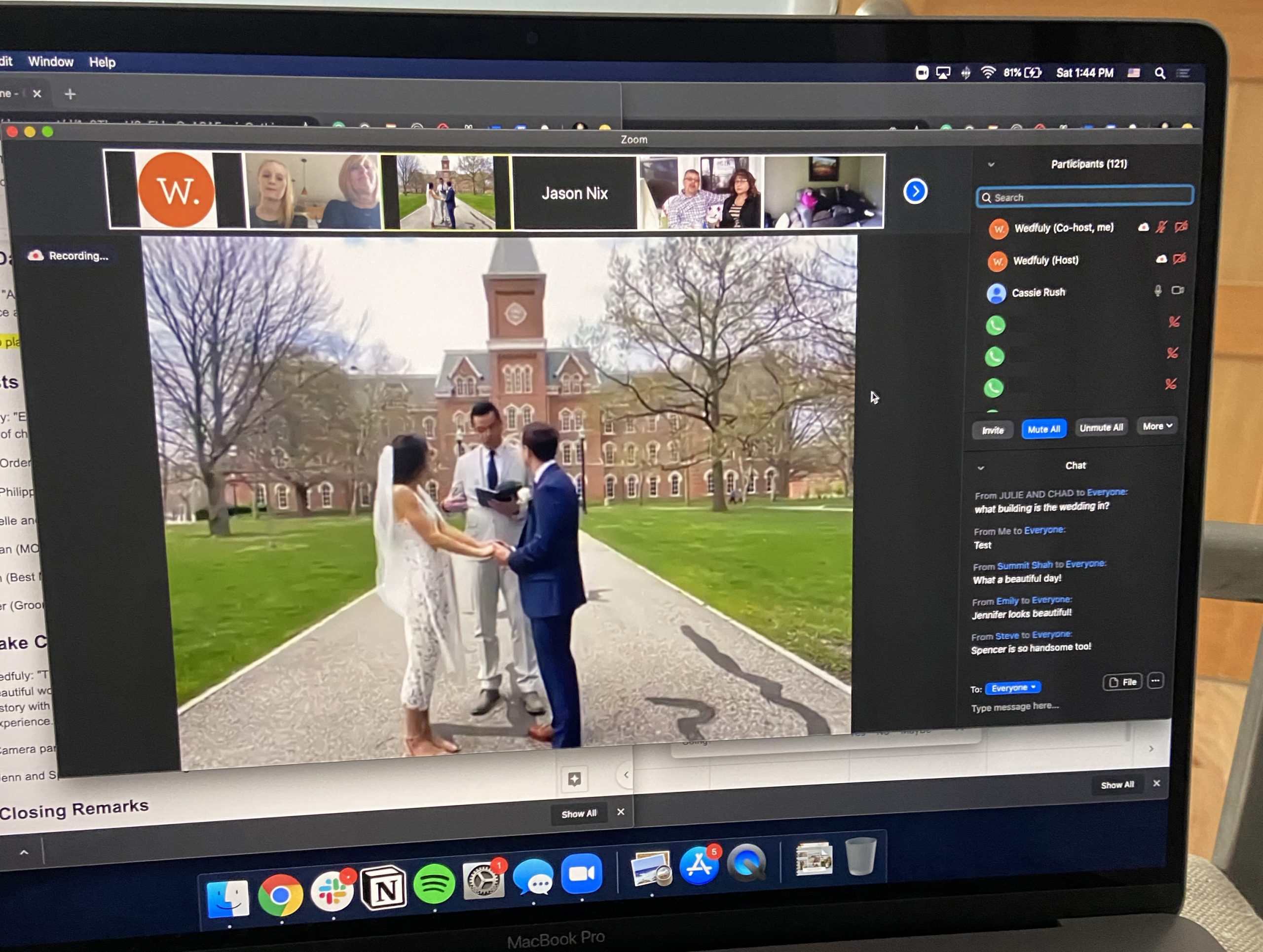 Q&A with Wedfuly: Zoom Weddings During COVID-19 & the Future of Virtual  Ceremonies - Zoom Blog