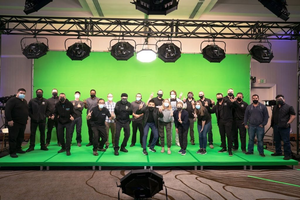 Zoom Team Green Screen