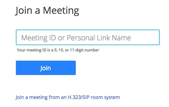 An einem Meeting teilnehmen