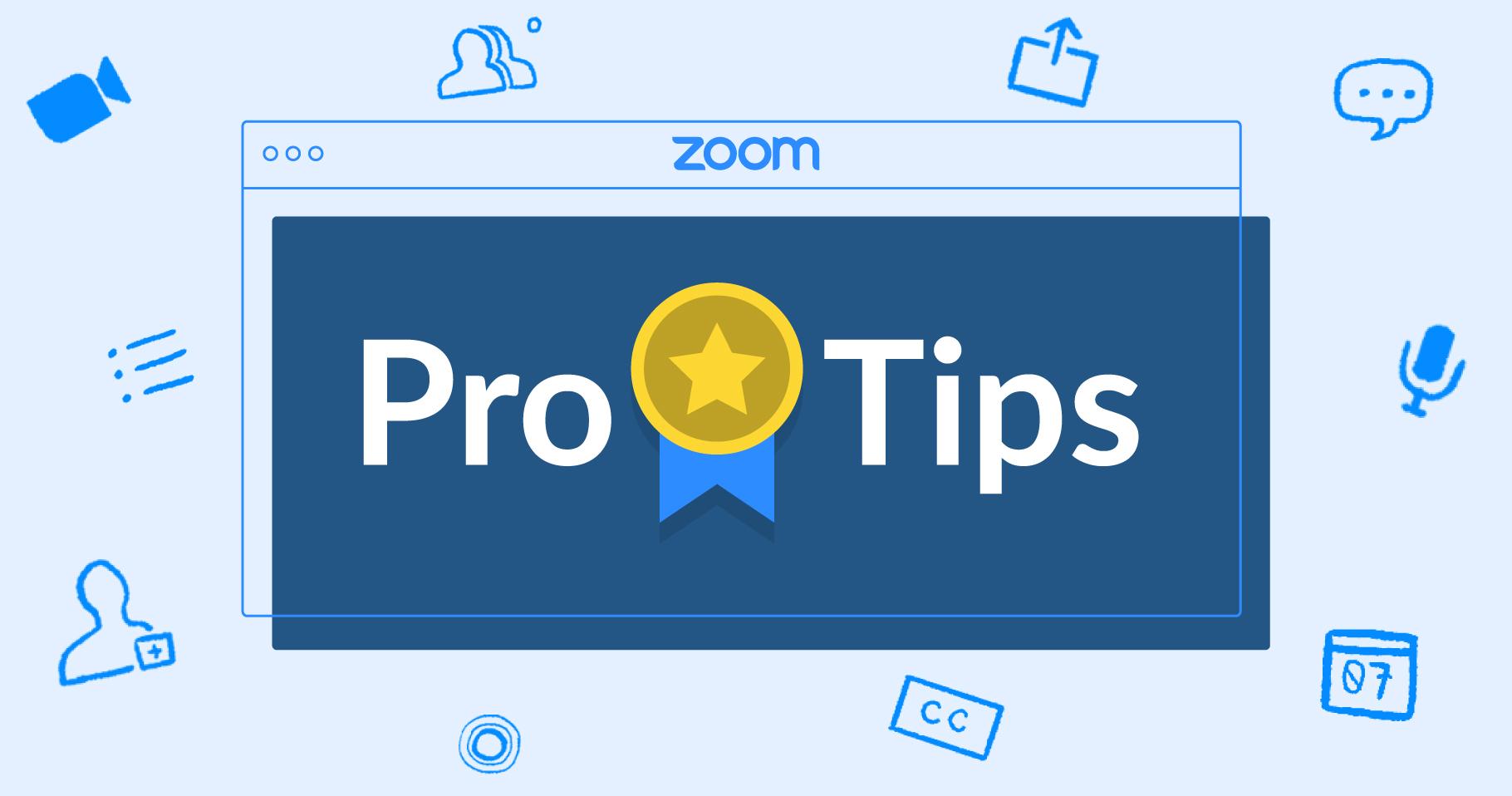 Conseils Zoom Pro: 3 façons d'animer vos réunions